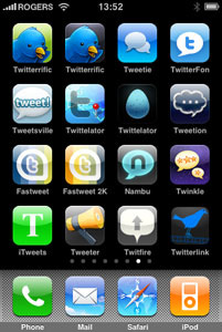 iPhone Twitter Clients