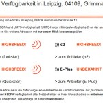 Multi-Verfügbarkeits-Check für UMTS, HSDPA, EDGE & GPRS