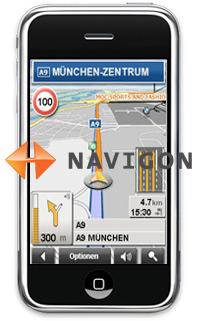 Navigon Navi-Software fürs iPhone