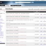 Microsoft TechNet Download Übersicht