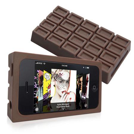 iPhone Schokoladen-Tasche