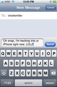 iPhone SMS-Sicherheitslücke