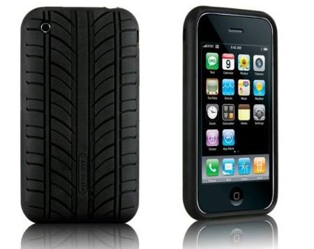 iPhone Tasche mit Reifenprofil