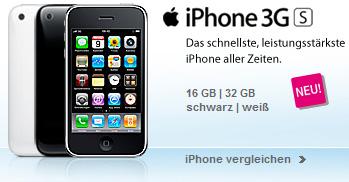 T-Mobile Lieferschwierigkeiten beim iPhone 3GS