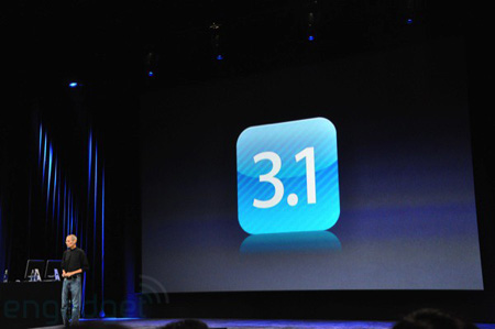iPhone OS 3.1 ist da