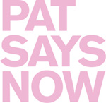 Pat Says Now Logo