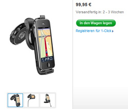 TomTom Car Kit im Apple Store