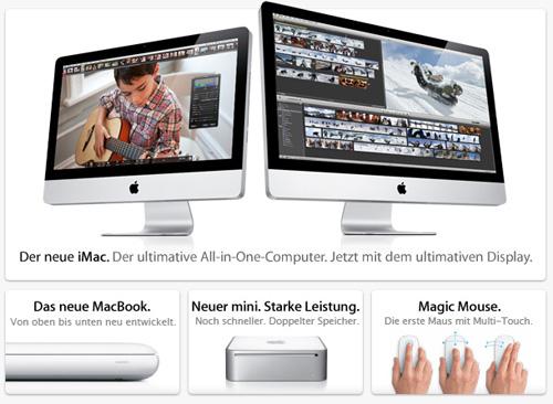 Neue Apple Produkte