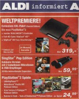 PS3 Slim Angebot bei Aldi
