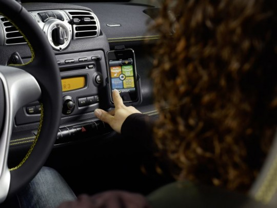 Mercedes benz entwickelt iphone app early adopter info for Mercedes benz app for iphone