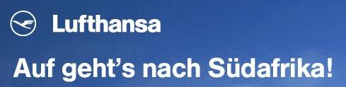 Lufthansa WM-Reporter