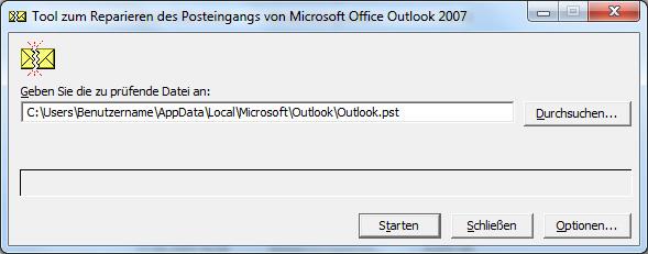 Microsoft Outlook: Tool zum Reparieren des Posteingangs
