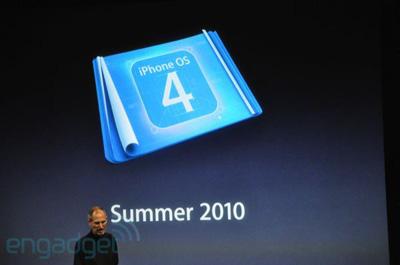 iPhone OS 4.0 Veröffentlichungstermin