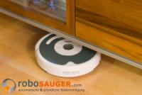 Roomba unter Möbel