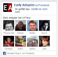 Early Adopter auf Facebook