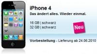 iPhone 4 Preise und Tarife