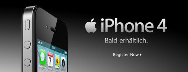 iPhone 4 bald erhältlich