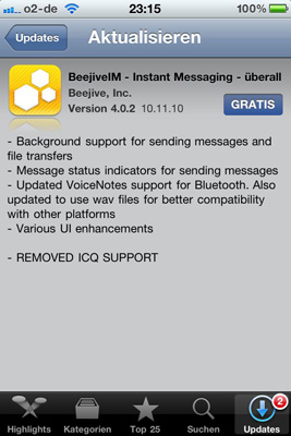 BeejiveIM 4.0.2 Update