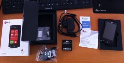 LG E900 Optimus 7 Lieferumfang
