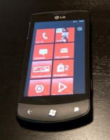LG E900 Optimus 7 mit Windows Phone 7
