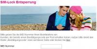Telekom SIM-Lock Entfernung