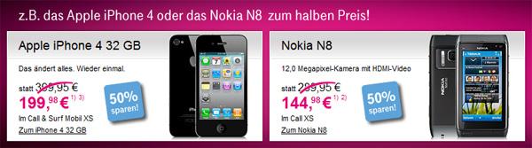 Telekom Rabattaktion