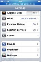 iOS 4.3 Personal Hotspot