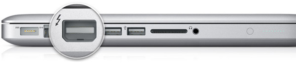 Apple MacBook Pro Thunderbolt-Anschluss