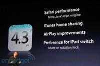 Apple iOS 4.3 Neuerungen
