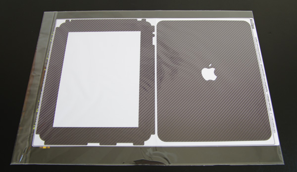 iPad Designskin in Carbonoptik