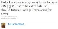 MuscleNerd Kommentar zu iOS 4.3.1