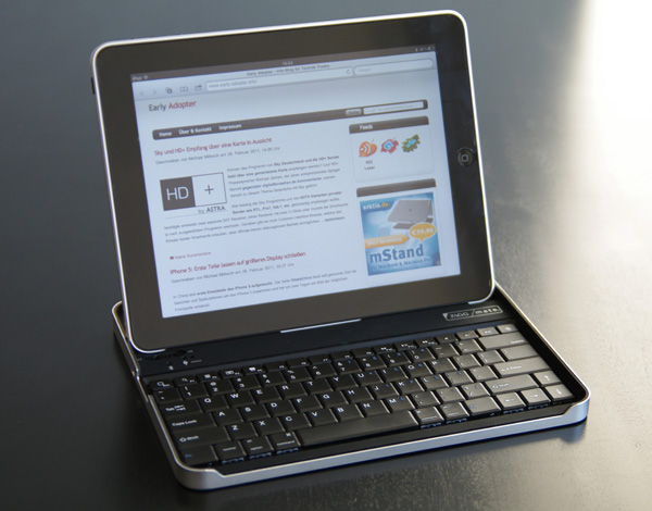 ZAGGmate iPad Bluetooth-Tastatur & Case