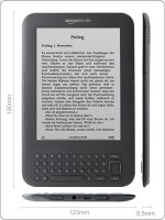 Amazon Kindle Maße