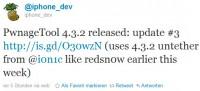 PwnageTool 4.3.2 und ultrasn0w 1.2.2 veröffentlicht