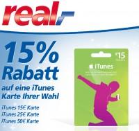 real iTunes-Karten Angebot