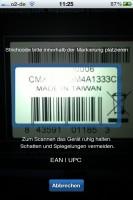 Geizhals Preisvergleich App: Barcodescanner