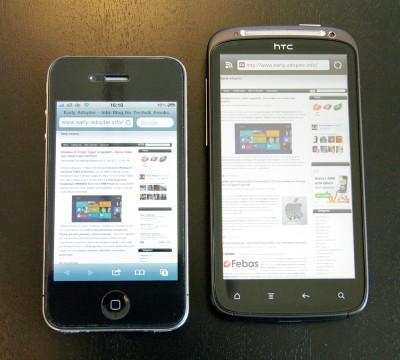 HTC Sensation/iPhone 4 Größenvergleich (02)