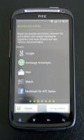 HTC Sensation: Konten einrichten