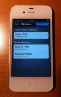 iPhone 4S iCloud Wiederherstellung