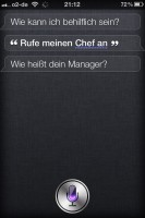iPhone 4S Siri Beziehungen