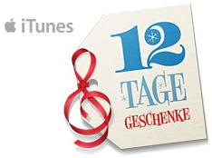 iTunes 12 Tage Geschenke 2011