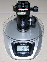 Sirui K-10X Gewicht