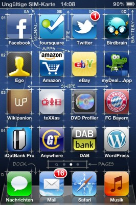 iPhone 4S Ungültige SIM-Karte