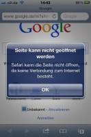 iPhone 4S WLAN-Verbindungsprobleme
