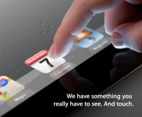 Apple iPad 3 Keynote Einladung