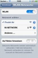 iTeufel Air WLAN-Netz