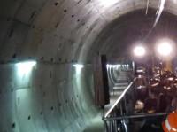 IXUS 510 HS Beispielbild: Leipzig Citytunnel - 100% Crop