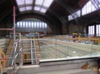 IXUS 510 HS Beispielbild: Leipzig Hauptbahnhof - Miniatureffekt
