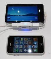 Galaxy Camera / iPhone 4 Vergleich