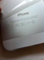 iPhone 5  fehlerhafte Rückseite